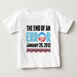 Das Ende eines Fehlers am 20. Januar 2013 Obama Baby T-shirt