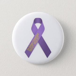 Das Epilepsie-Verbindungs-Band Runder Button 5,7 Cm