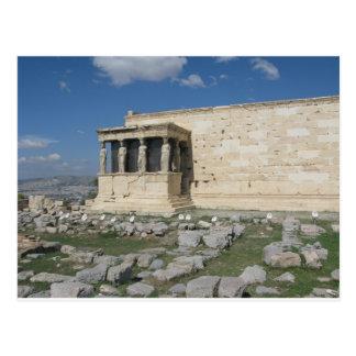 Das Erecthion ist ein Teil altgriechische Postkarte