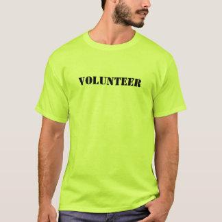 Das Ereignis-Freiwillig-T - Shirt der Männer