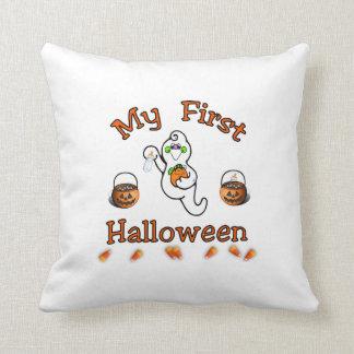 Das erste Halloween des Babys Kissen