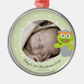 Das erste Weihnachten Babys Oscars | - addieren Silbernes Ornament