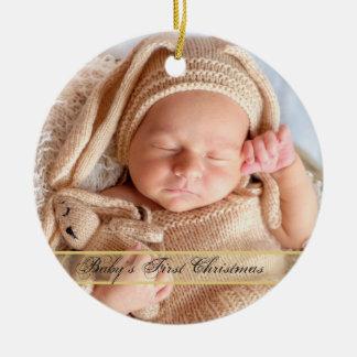 Das erste Weihnachten HAMbyWG Babys Keramik Ornament