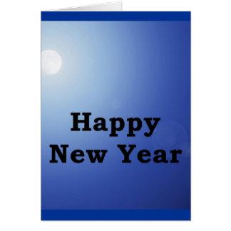 Das Ezekiel 36-26 des neuen Jahres Karte