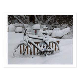Das Fahrrad-Zyklus-radfahrende Radfahren wartete Postkarte