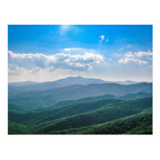 Das fantastische Blau-Ridge Postkarte