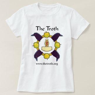 Das farbenreiche vordere T-Stück der Troth-Frauen T-Shirt