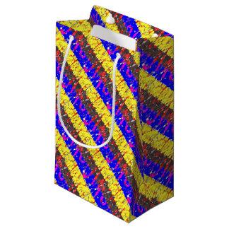 Das farbige Gebäude blockiert Geschenk-Tasche Kleine Geschenktüte