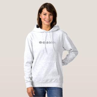 Das farbige mit Kapuze Sweatshirt der