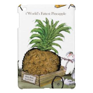 Das fetteste pineapple Liebe-Yorkshire'Welt iPad Mini Hülle