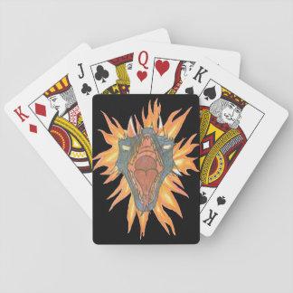 Das Feuer des Drachen Spielkarten