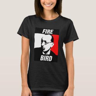 Das Feuer-Vogel Stravinsky T-Stück der Frauen T-Shirt