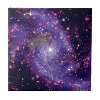 Das Feuerwerk-Galaxie-Weltraum-Foto Fliese
