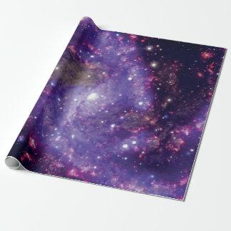Das Feuerwerk-Galaxie-Weltraum-Foto Geschenkpapier