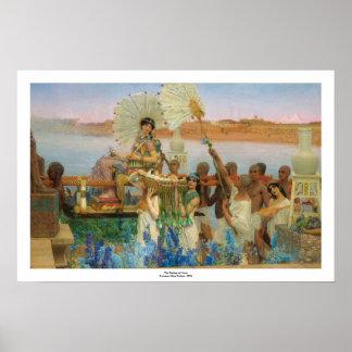 Das Finden Moses (genauen) ~ Alma-Tadema Poster