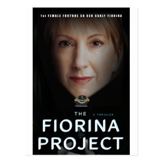 Das Fiorina Projekt (Kopf) Postkarte