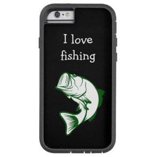 Das Fischen-Thema der Männer Tough Xtreme iPhone 6 Hülle