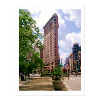 Das Flatiron Gebäude Postkarte