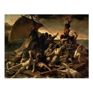 Das Floss der Medusa - Théodore Géricault Postkarte