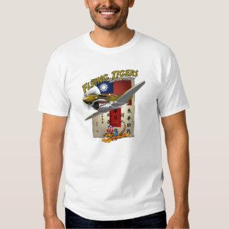 Das Flying Tigers P-40 Blut-Zettel Shirt