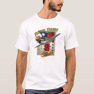 Das Flying Tigers P-40 Blut-Zettel T-Shirt