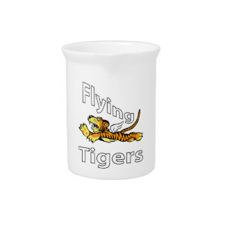 Das Flying Tigers - Winged Tiger Getränke Pitcher