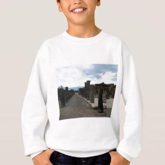 Das FORUM VON POMPEJI - Spaltenfragmente Sweatshirt
