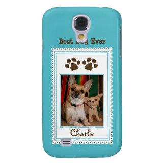 Das Foto-Gewohnheit 3G (Aqua) Ihres Haustieres Galaxy S4 Hülle