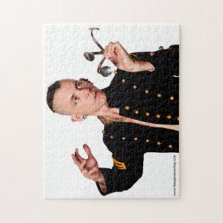 Das Foto-Puzzlespiel des Raum-Cowboy-11x14 mit Puzzle