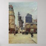 Das Freiheitsstatue, durch Bartholdi Plakatdruck