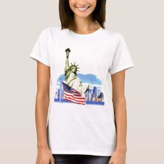 Das Freiheitsstatue in New York City T-Shirt