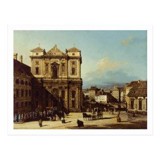 Das Freyung in Wien, Ansicht vom Nordwesten, C. Postkarte