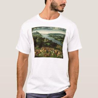 Das Füttern der fünf tausend T-Shirt