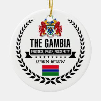 Das Gambia Keramik Ornament