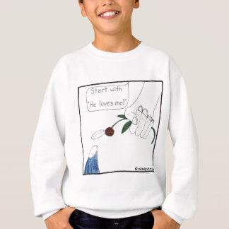 Das Gänseblümchen des Gottes Sweatshirt