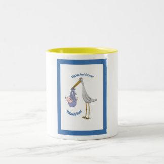 Das ganzes Beste für Ihre Mutterschaft verlassen, Zweifarbige Tasse