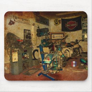 Das Garagenwerkstatt mousemat Mousepad