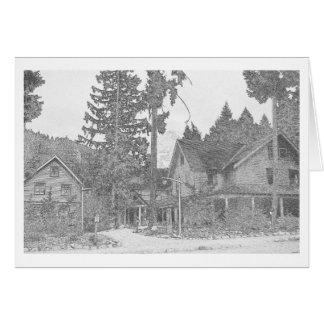 Das Gasthaus bei Longmire Karte