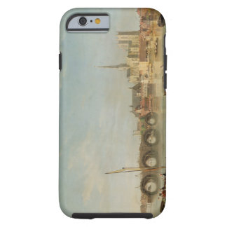 Das Gebäude von Westminster-Brücke mit einem Tough iPhone 6 Hülle