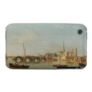 Das Gebäude von Westminster-Brücke mit einem iPhone 3 Case-Mate Hülle