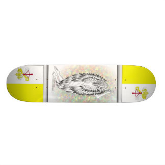 Das GEBET des ENGELS, Holy See - Vatikanstadt 19,7 Cm Skateboard Deck
