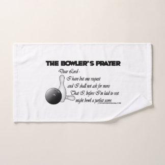 Das Gebet des Werfers Handtuch