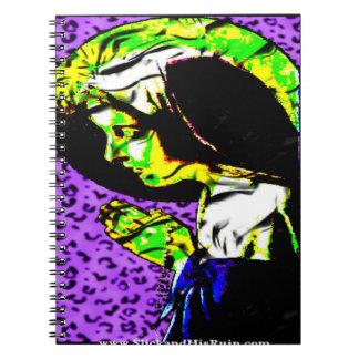 Das Gebet einer Mutter Spiral Notizblock
