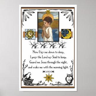 Das Gebet eines Kindes Plakatdrucke