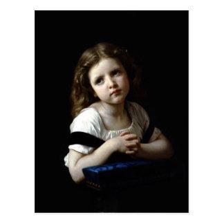 Das Gebet - William Bouguereau - Postkarte