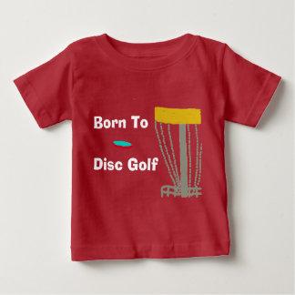 Das geborene zum Disc-Golf-T - Shirt