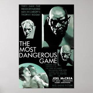 Das gefährlichste Spiel Poster