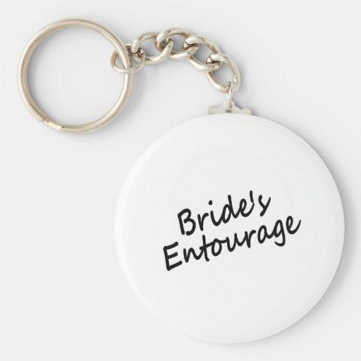 Das Gefolge der Braut Schlüsselband