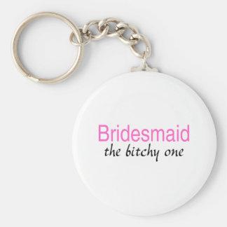 Das gehässige Brautjungfer Schlüsselband