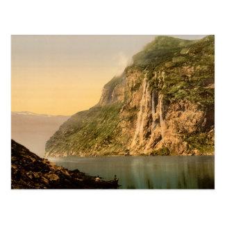Das Geirangerfjord Postkarte